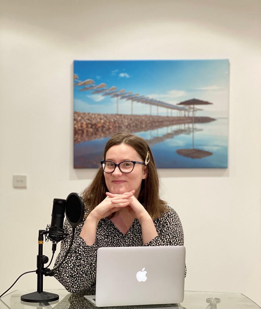 Dario Trapszo, autorka podcastu 'Dziewczyny i polityka'