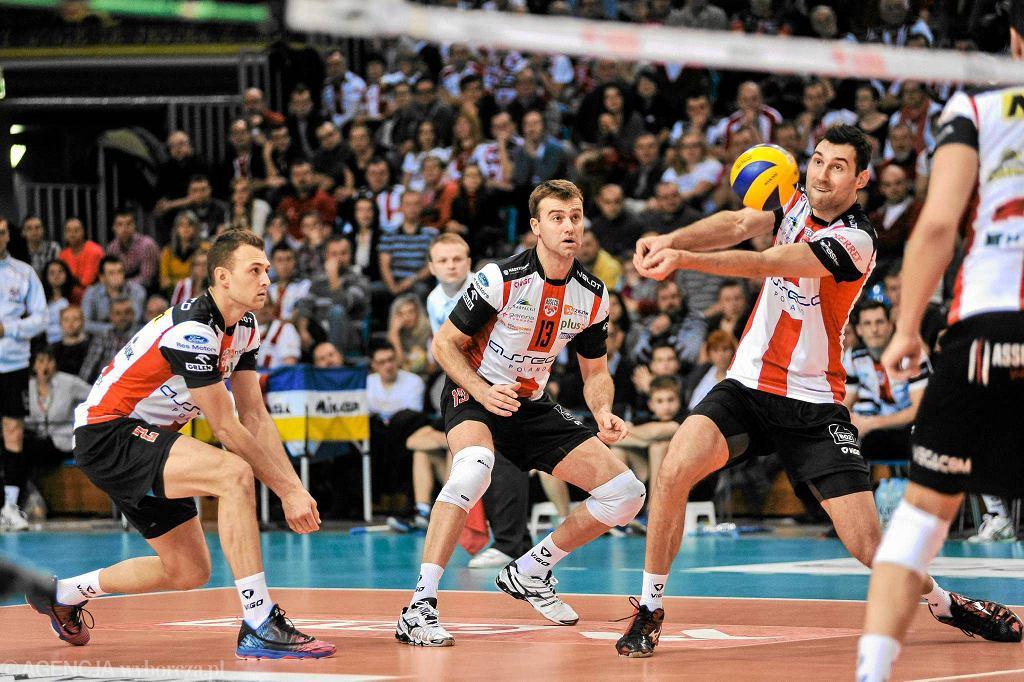 Styczniowy mecz PlusLigi Asseco Resovia - Jastrzębski Węgiel 3:2