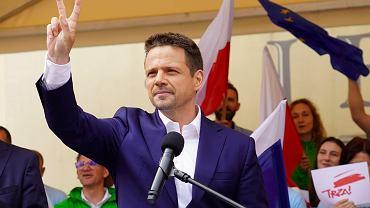 Wiec wyborczy Rafała Trzaskowskiego