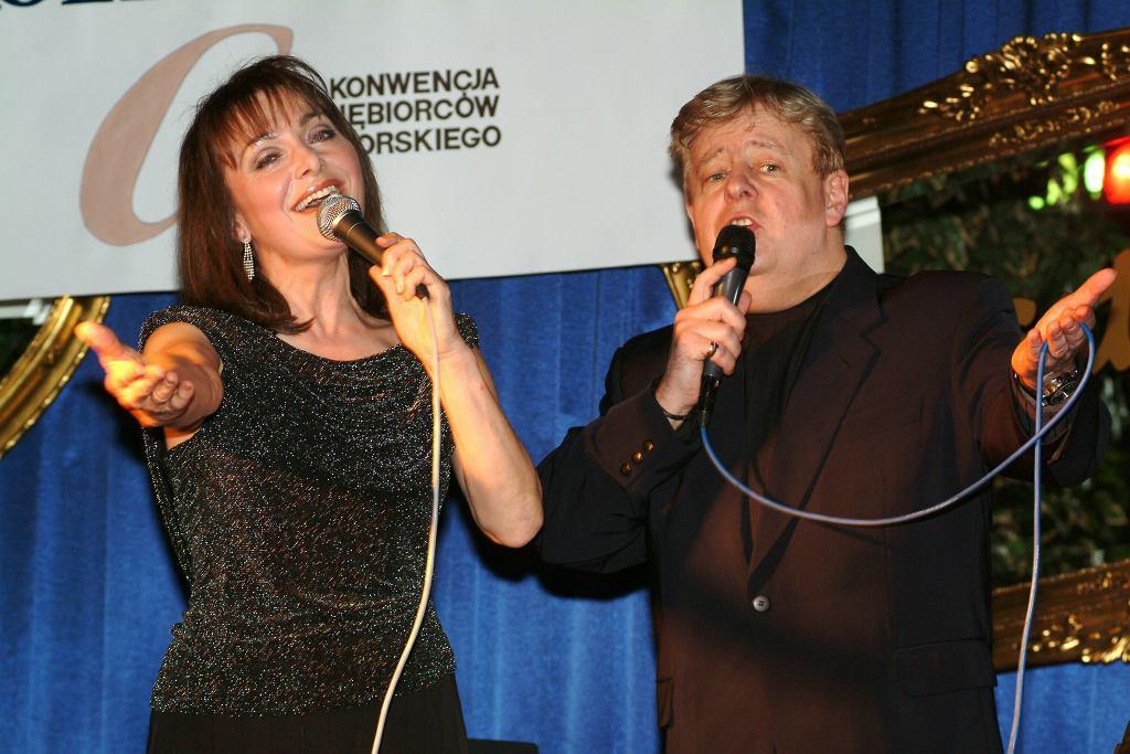 Irena Jarocka i Marian Zacharewicz