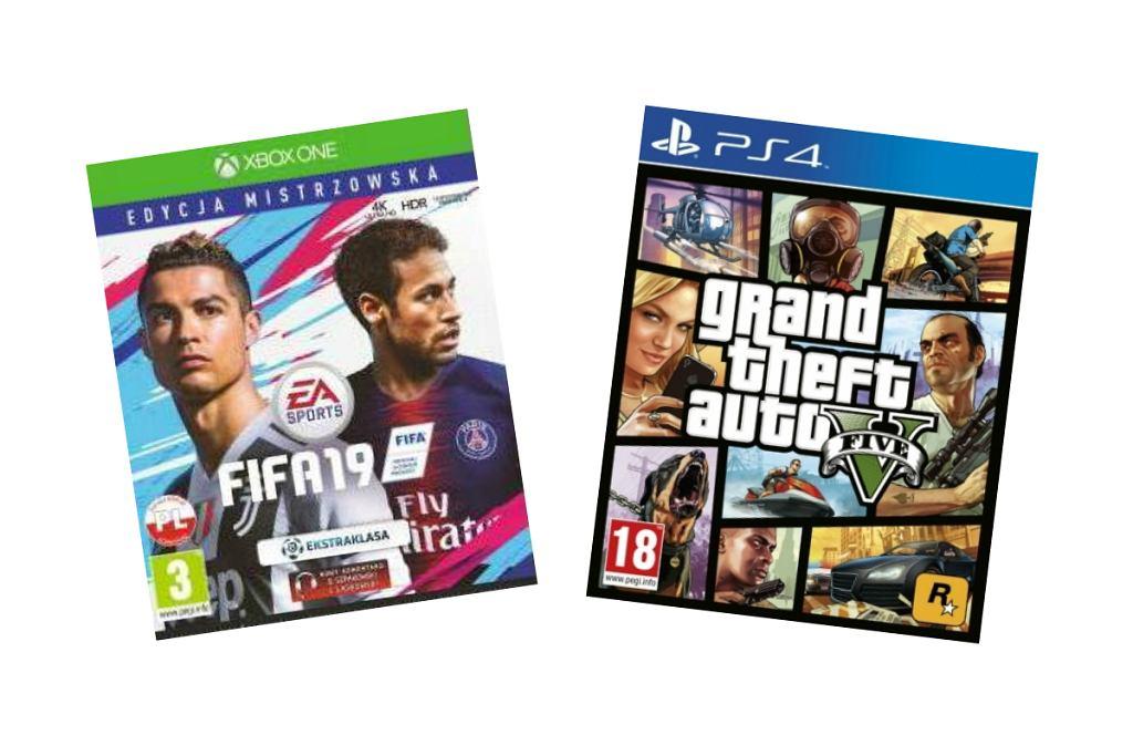 Gry na Xboxa i PlayStation