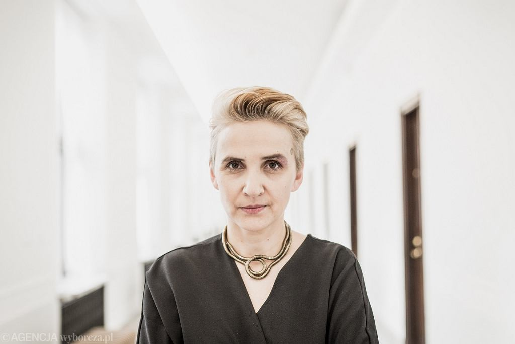 Posłanka Joanna Scheuring-Wielgus