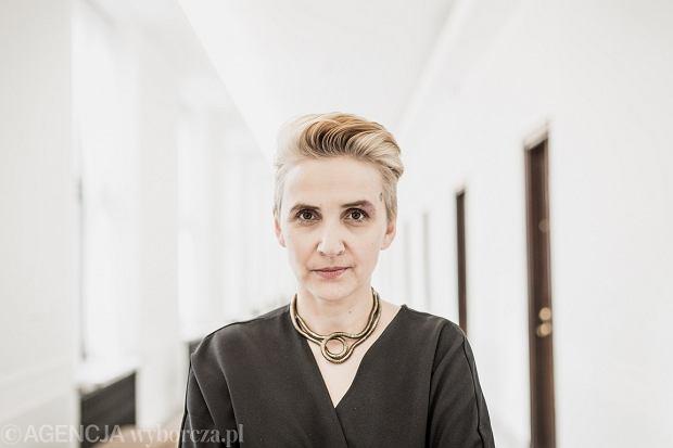 -Poslanka Nowoczesnej Joanna Scheuring Wielgus