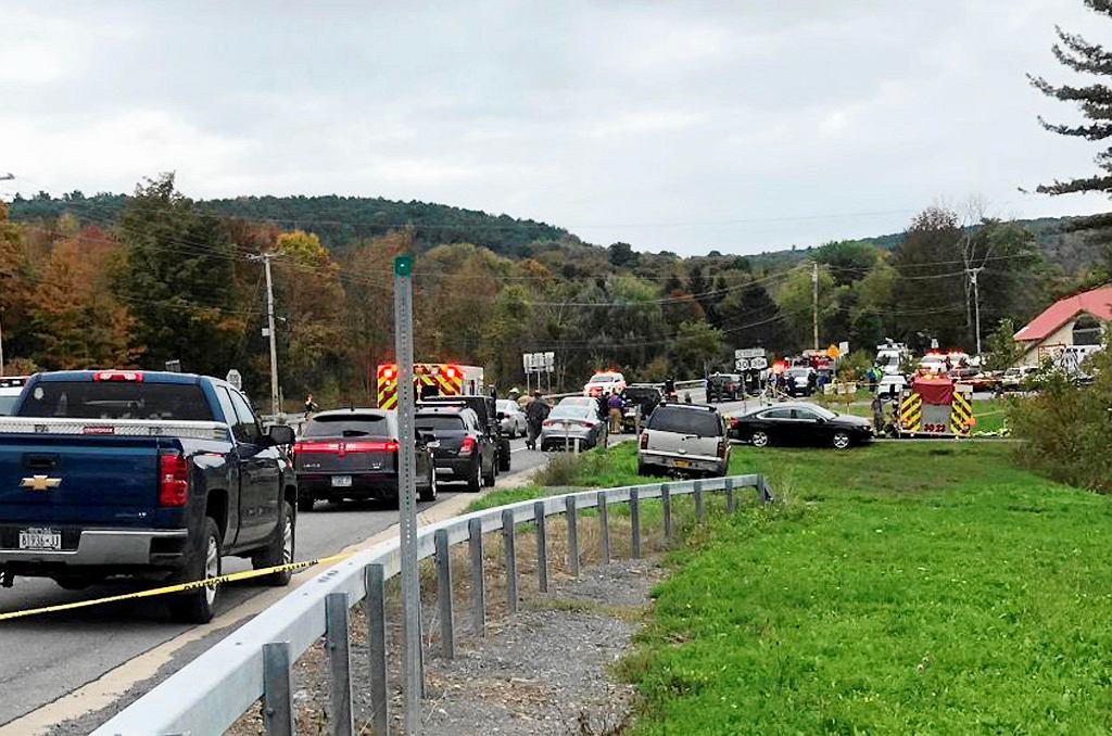 USA. Wypadek z udziałem limuzyny