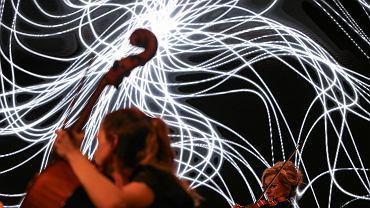 Koncert orkiestry Aukso podczas pierwszej edycji festiwalu Auksodrone w Mediatece