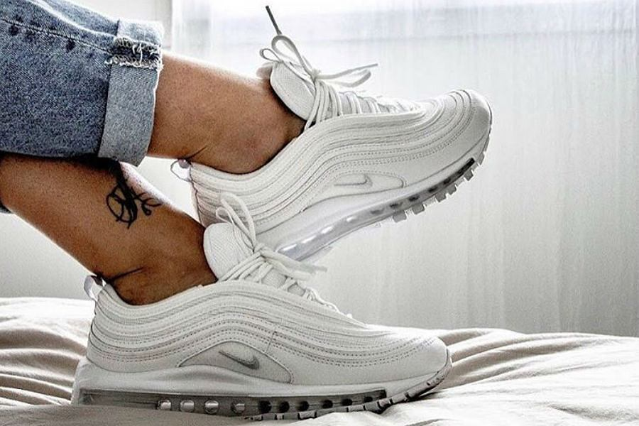 Białe sneakersy Air Max 97