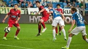Lech Poznań - Podbeskidzie Bielsko-Biała 0:1. Maciej Gajos