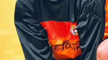 Jacek Przybylski w barwach Wisły Kraków