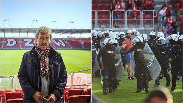 Zbigniew Boniek o wydarzeniach po meczu Widzewa Łódź