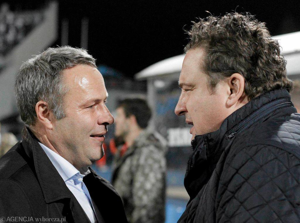 Prezydent Rafał Bruski i Radosław Osuch