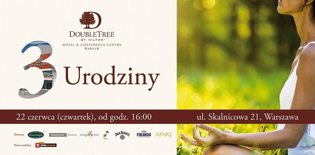Urodziny DoubleTree by Hilton Warsaw
