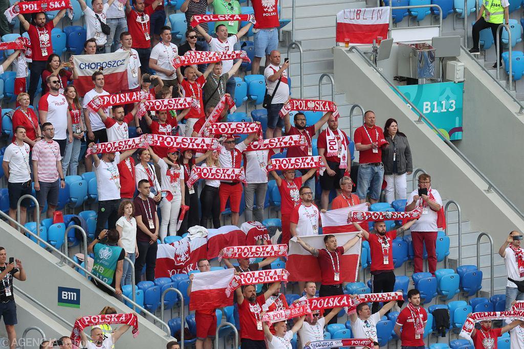 Mecz Polska - Slowacja w Petersburgu