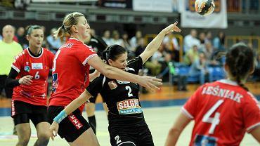 W Lublinie MKS Selgros gładko pokonał Olimpię-Beskid Nowy Sącz 37:28, a na wyjedzie przegrał 24:25