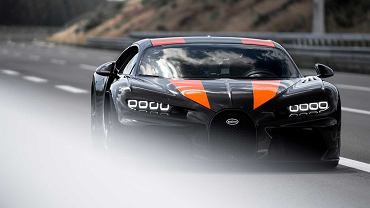 Bugatti Chiron rozpędziło się do 490 km/h