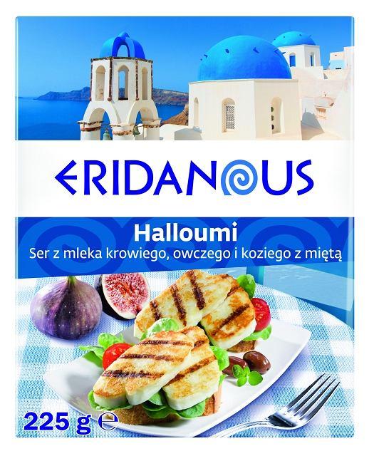 Lidl Kuchnia grecka - Halloumi - Ser z mleka krowiego, owczego i koziego z miętą