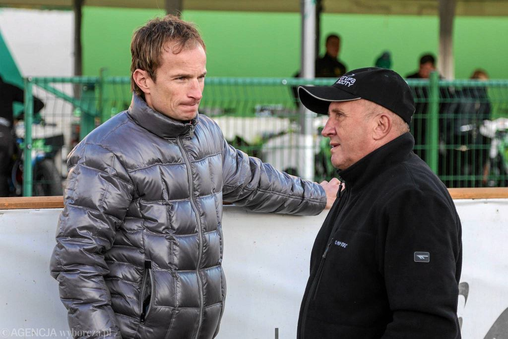 Rune Holta i Marek Cieślak