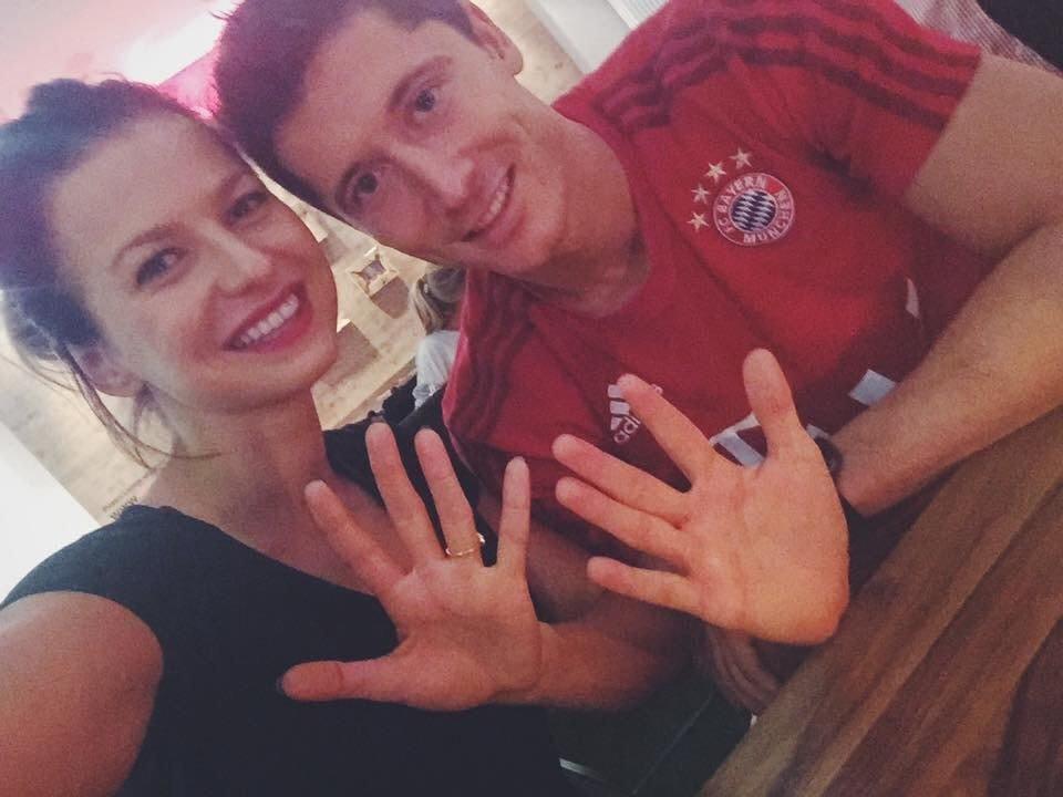 Anna i Robert Lewandowski