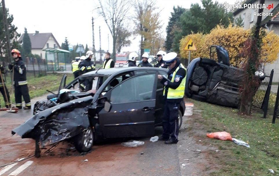 Wypadek w Markowicach