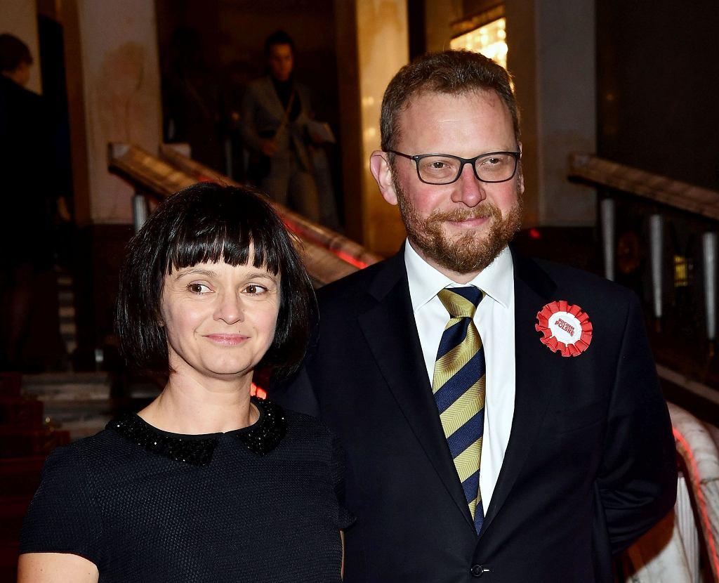 Łukasz Szumowski i Anna Szumowska