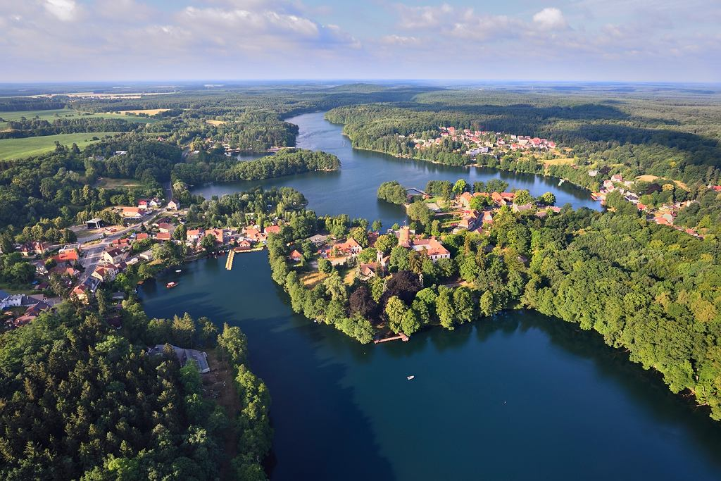 Wakacje w Lubuskiem. Łagów nad jeziorami Trześniowskim i Łagowskim