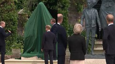 Odsłonięcie pomnika księżnej Diany