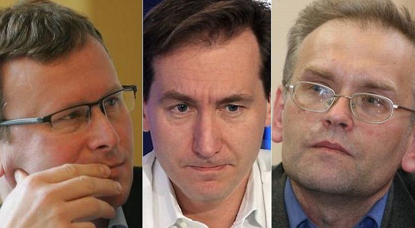 Bogusław Chrabota, Piotr Kraśko, Piotr Zaremba