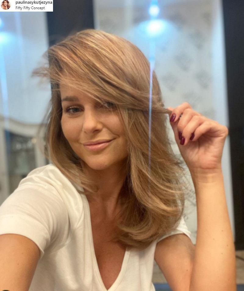 Paulina Sykut-Jeżyna ma nową fryzurę.