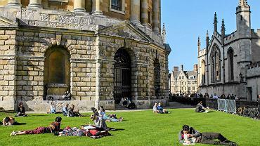 Budynek jednej z bibliotek uniwersyteckich w Oksfordzie - najstarszej anglojęzycznej uczelni na świecie