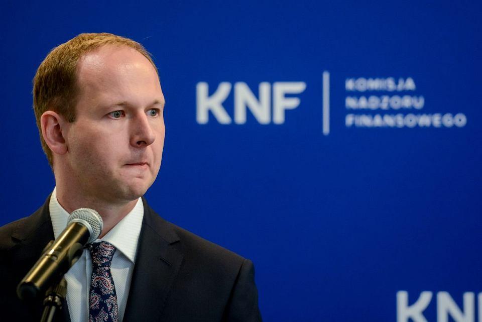 Marek Chrzanowski były przewodniczący KNF