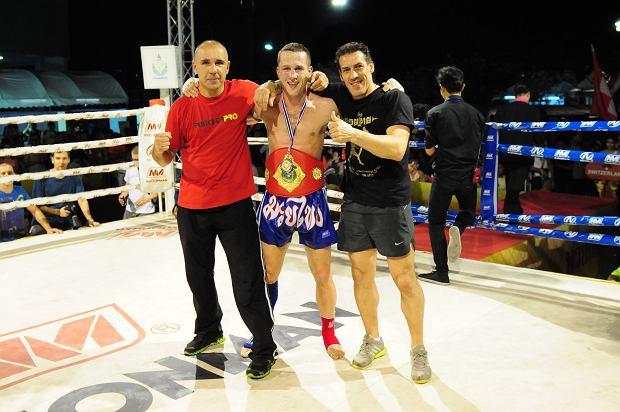 Marcin Parcheta mistrzem świata w tajskim boksie