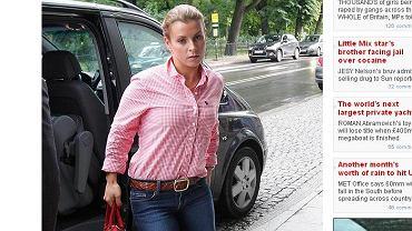 Coleen Rooney, żona Wayne'a w Krakowie