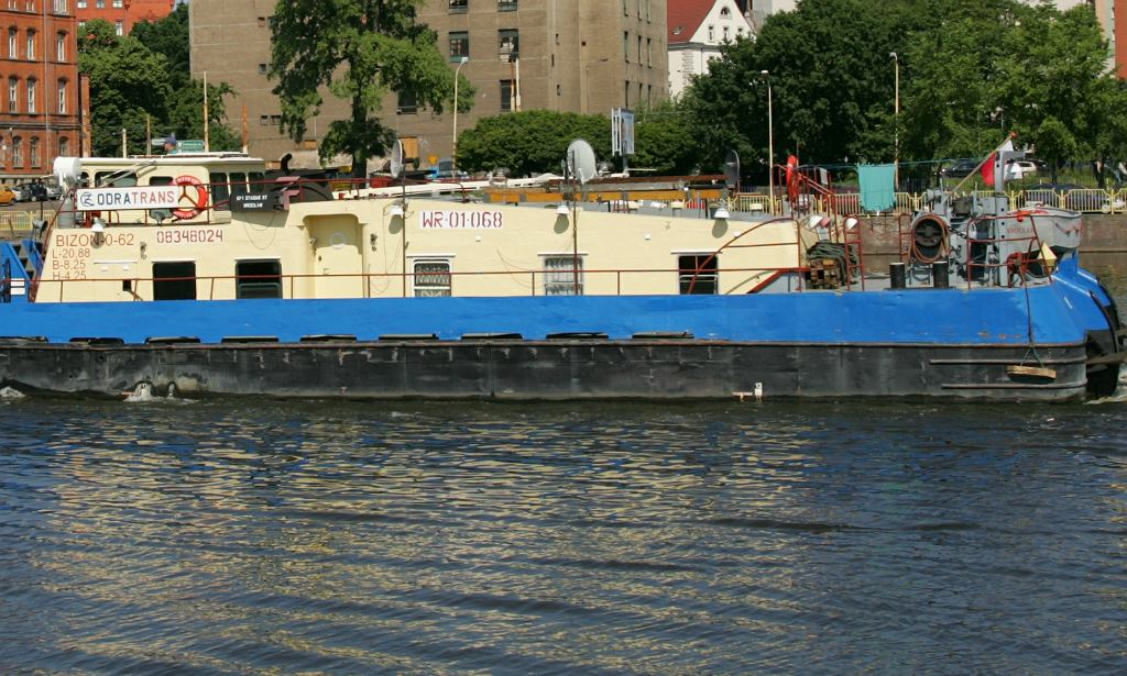 Pchacz wodny typu Bizon (zdjęcie ze Szczecina)