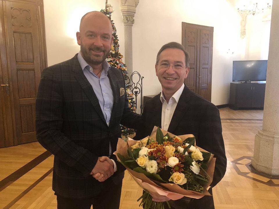 Wiceprezydent Maciej Bluj Po 22 Latach Pozegnal Sie Z Magistratem