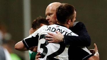 Trener Henning Berg i Miroslav Radović