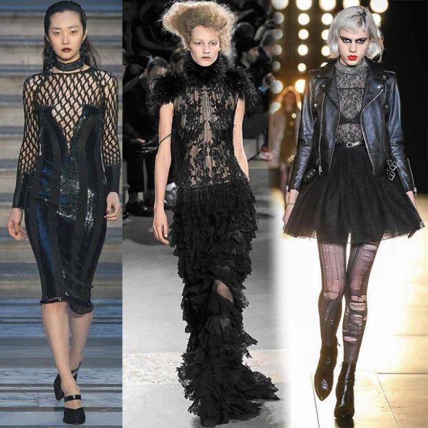 Kobieta w czerni: ubrania i dodatki w stylu gothic