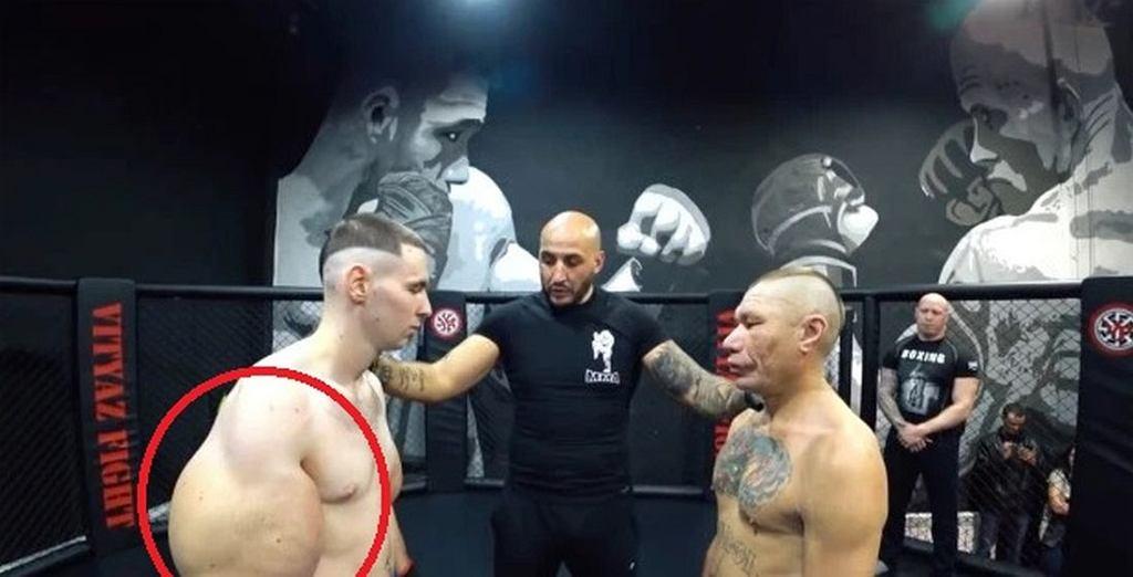 Rosyjski Popeye zadebiutował w MMA