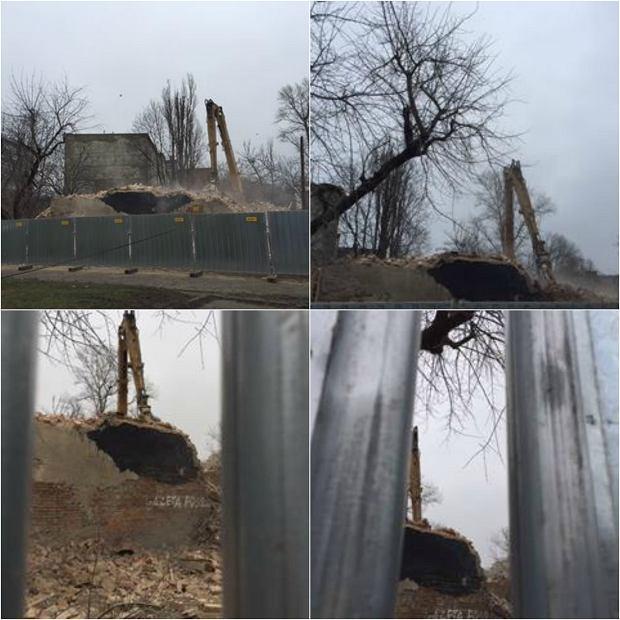 Burzenie kamienicy