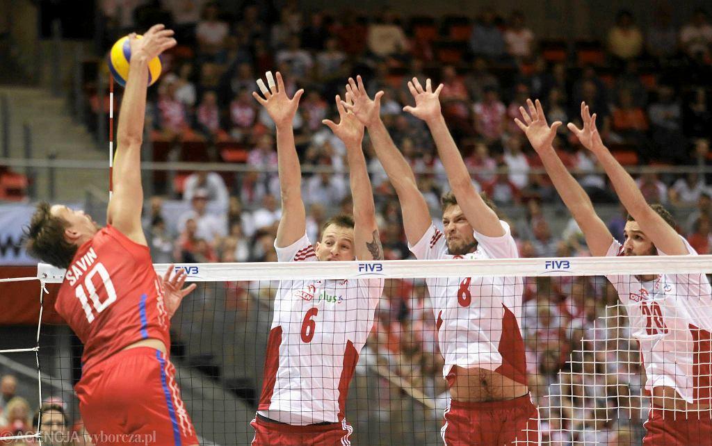 Liga Światowa. Polska - Rosja 3:0