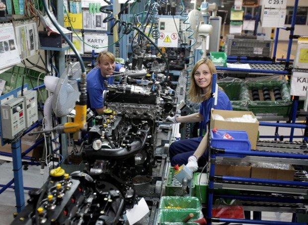 Fabryka silników Opla w Tychach