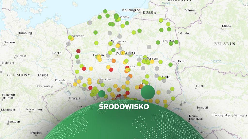 Smog w Polsce - 31 października 2019 r.