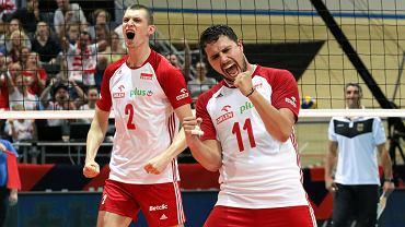 Maciej Muzaj (z lewej) i Fabian Drzyzga podczas ME 2019