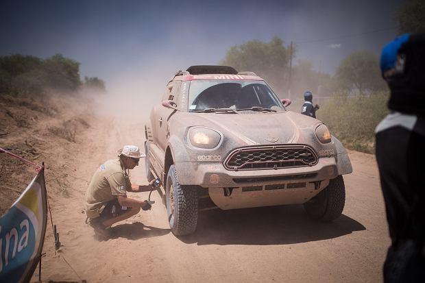 Rajd Dakar. Mini BMW