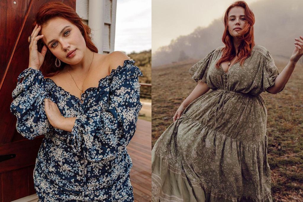Sukienki na jesień plus size