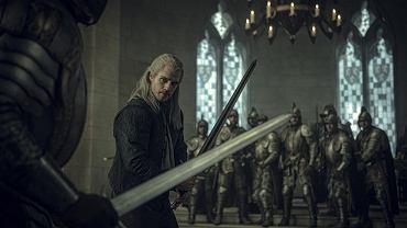 Henry Cavill jako Geralt z Rivii w serialu 'Wiedźmin'. Uroczysta premiera serialu odbyła się na Torze Wyścigów Konnych na Służewcu