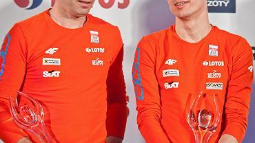 Łukasz Kruczek i Kamil Stoch