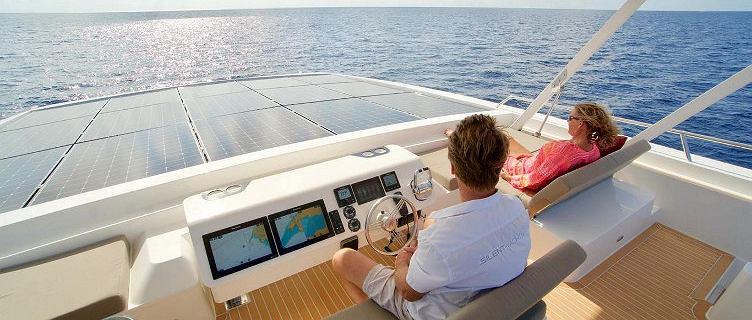 Jacht napędzany wyłącznie słońcem. Ultrabogaci mogą być bardziej eko
