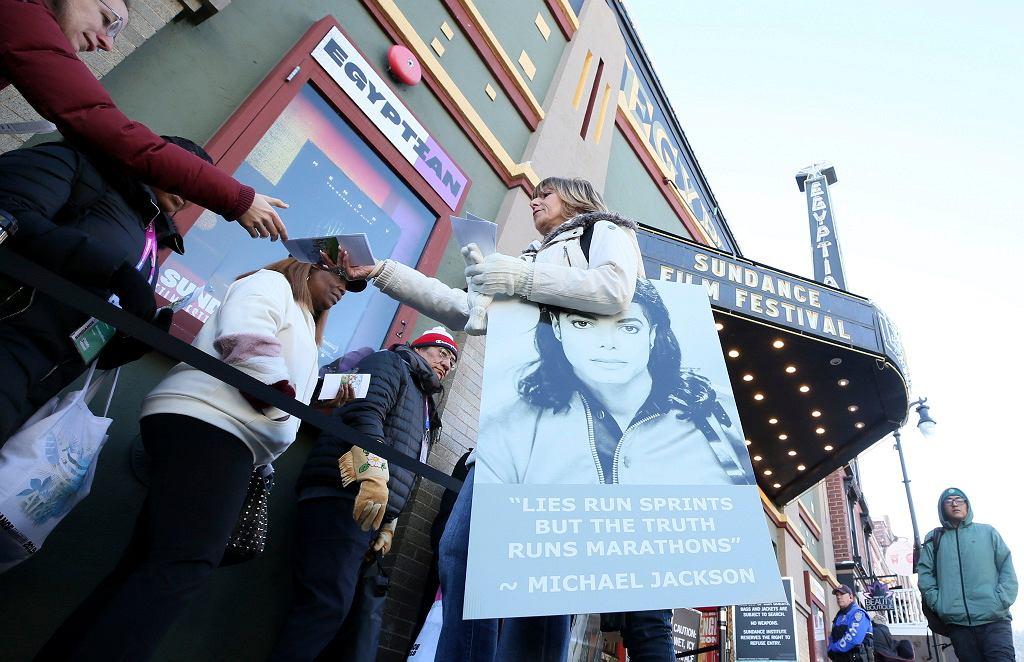 2019 Sundance Film Festival - przed projekcją filmu 'Leaving Neverland'.