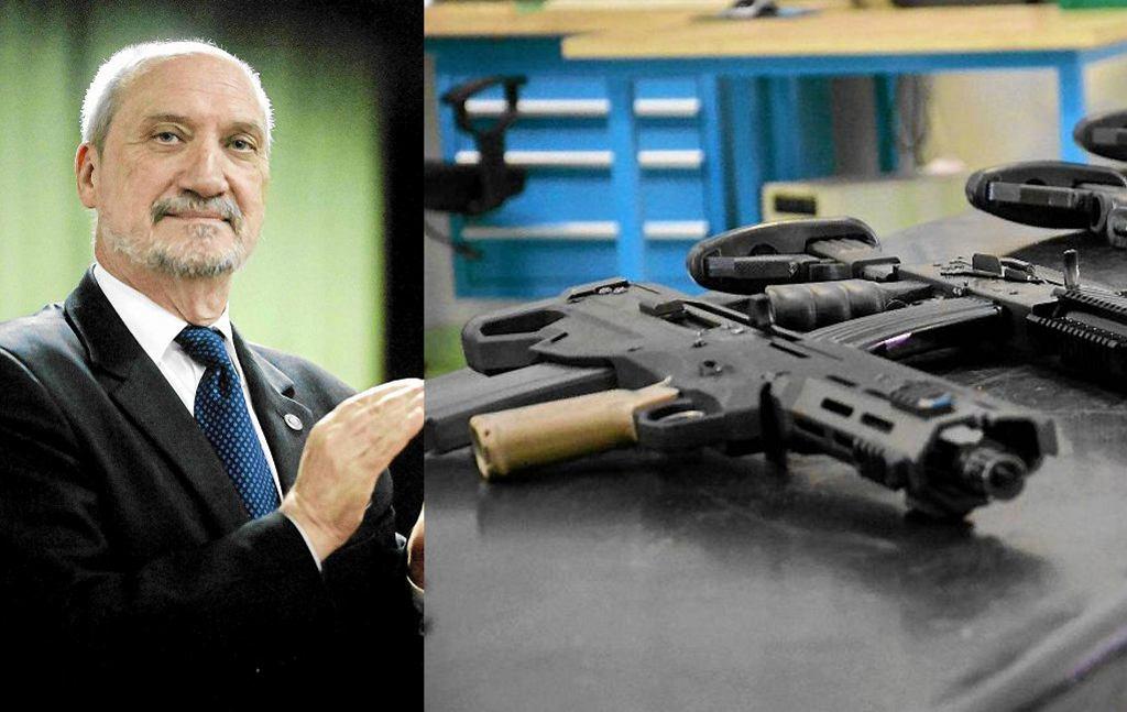 Antoni Macierewicz zleca produkcję 53 tys. karabinków Grot