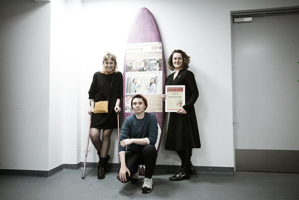 Wdechy 2018. Big Book Cafe laureatem w kategorii Miejsce Roku / fot. Adam Stępień/AG