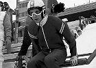 1988, Calgary, Matti Nykaenen podczas treningu na średniej skoczni w czasie zimowych igrzysk olimpijskich.